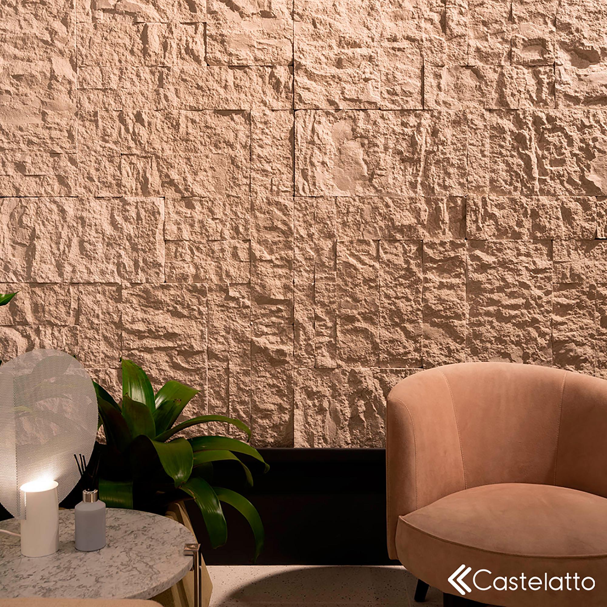 Ecobrick Stone Marfim - Arquiteto Gustavo Arbex e Designer de Interiores Bruno Carvalho - Foto Favaro Jr. e Junior Fiocco