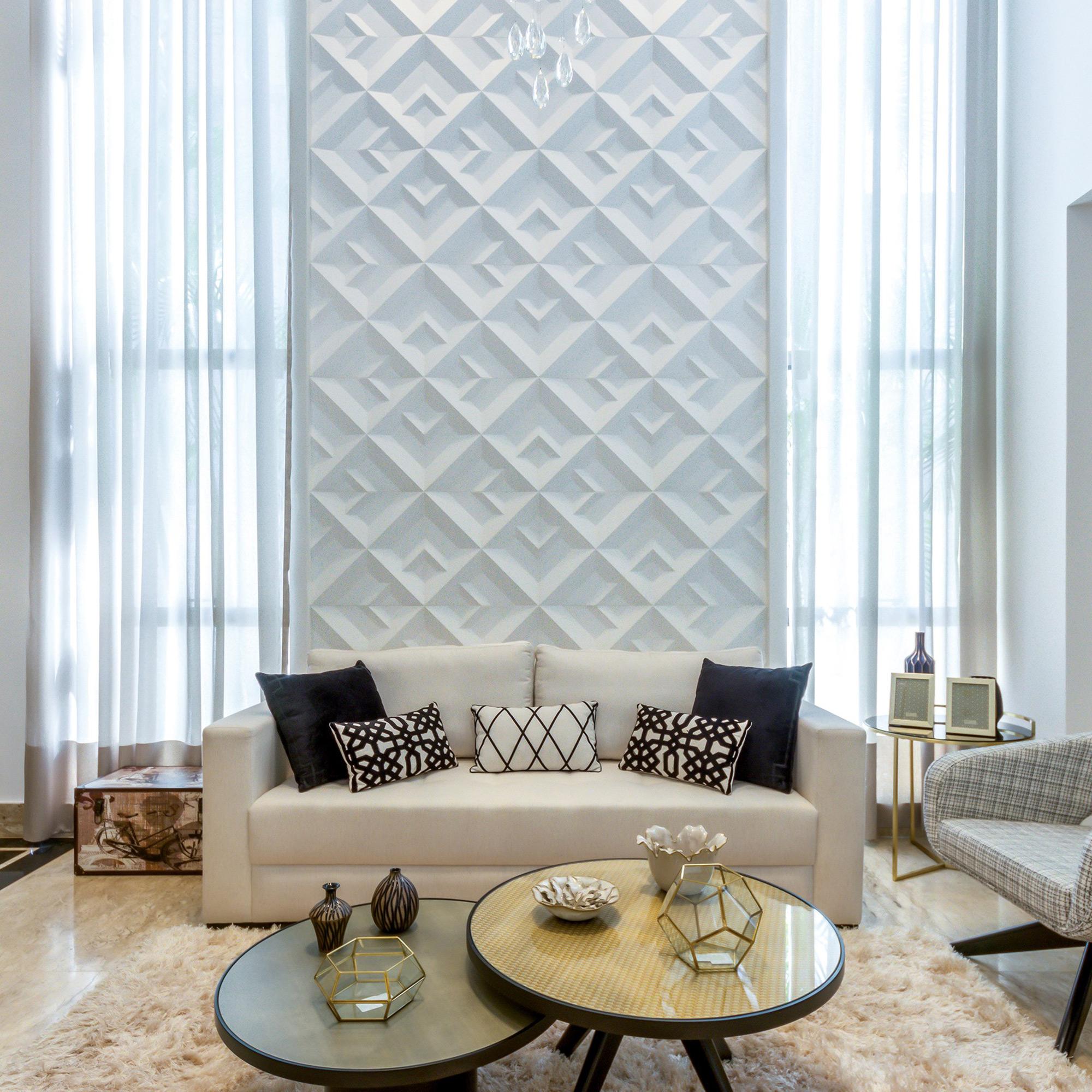Matrice Paris Branco - Escritório E2M Arquitetura e Design - Foto Rafael Guimarães