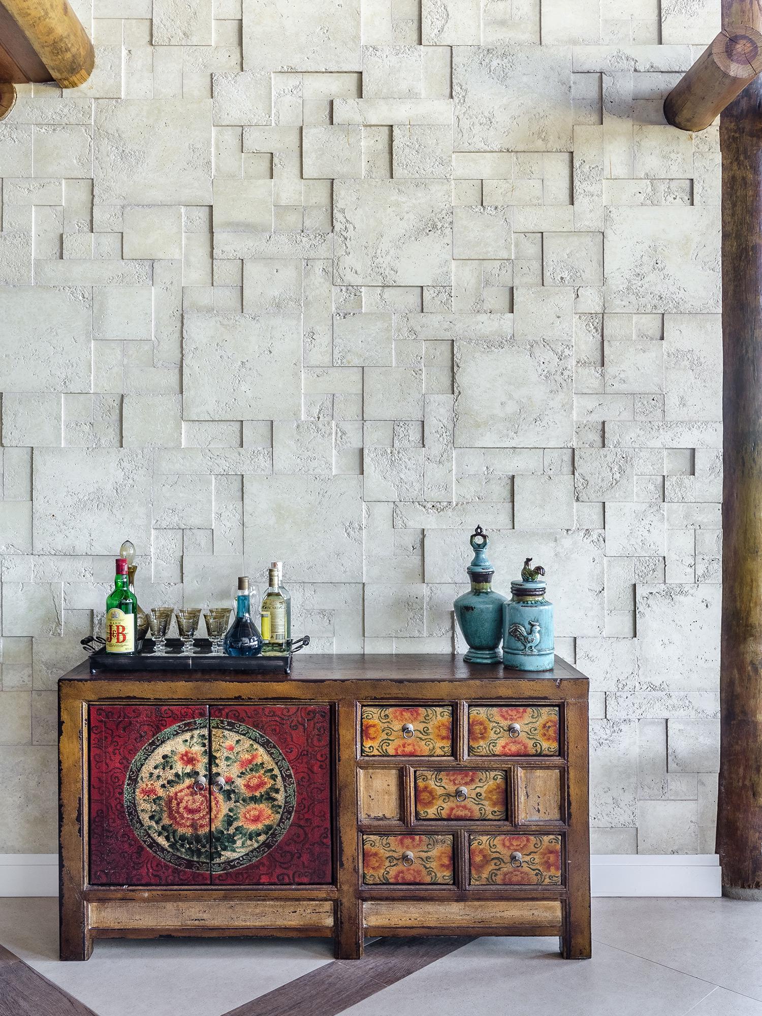 Mosaico Etrusco Fendi - Carvalho Arquitetos - Foto Ronaldo Rizzutti