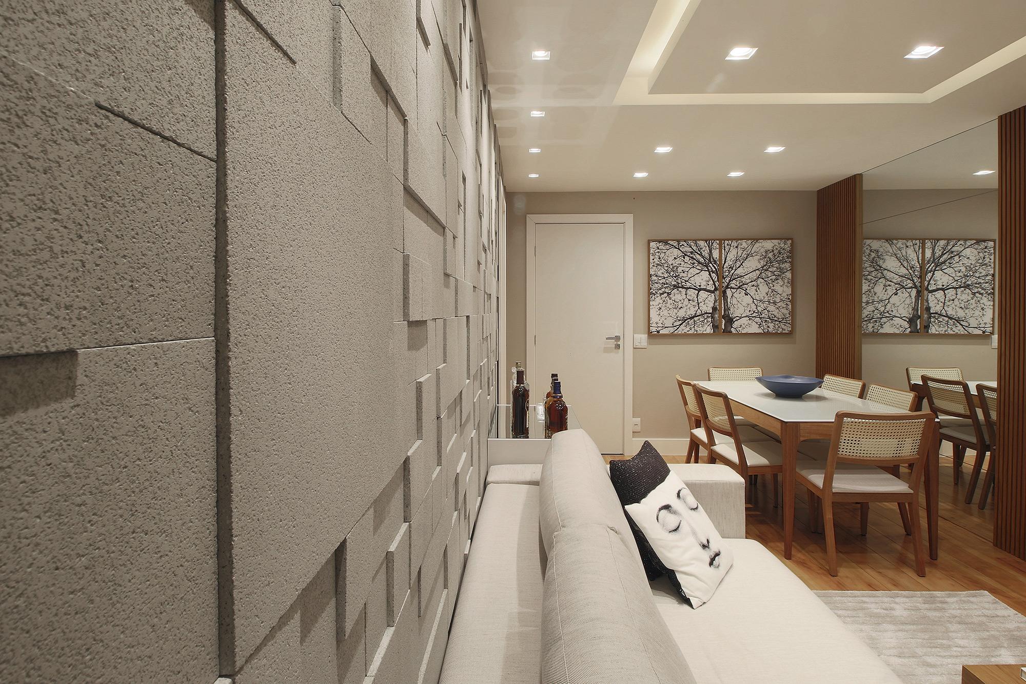 Mosaico Grezzo Cinza - Studio AD Arquitetura - Foto Gustavo Bresciani