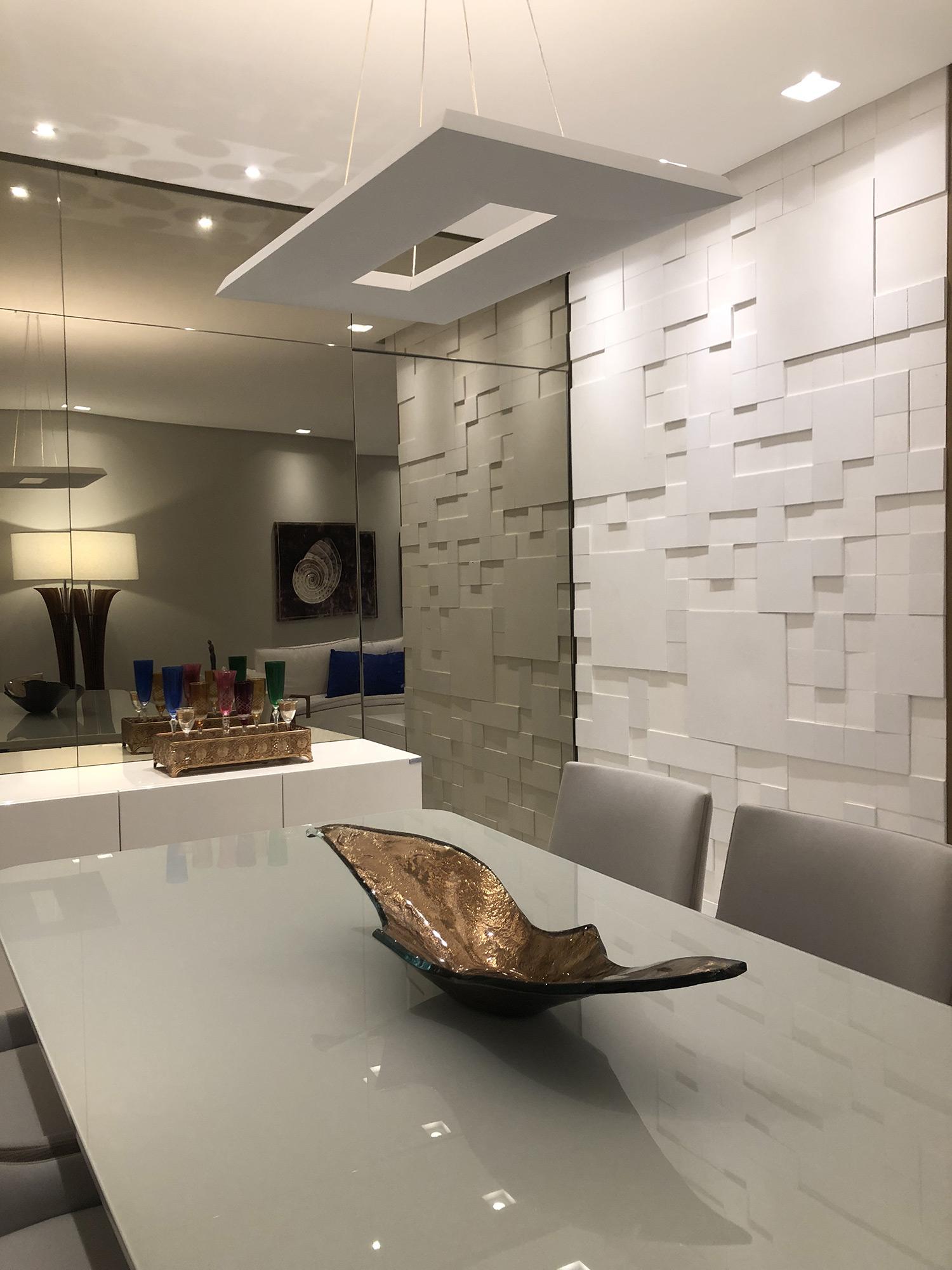 Mosaico Paris Branco - Victor Calmon Arquitetura