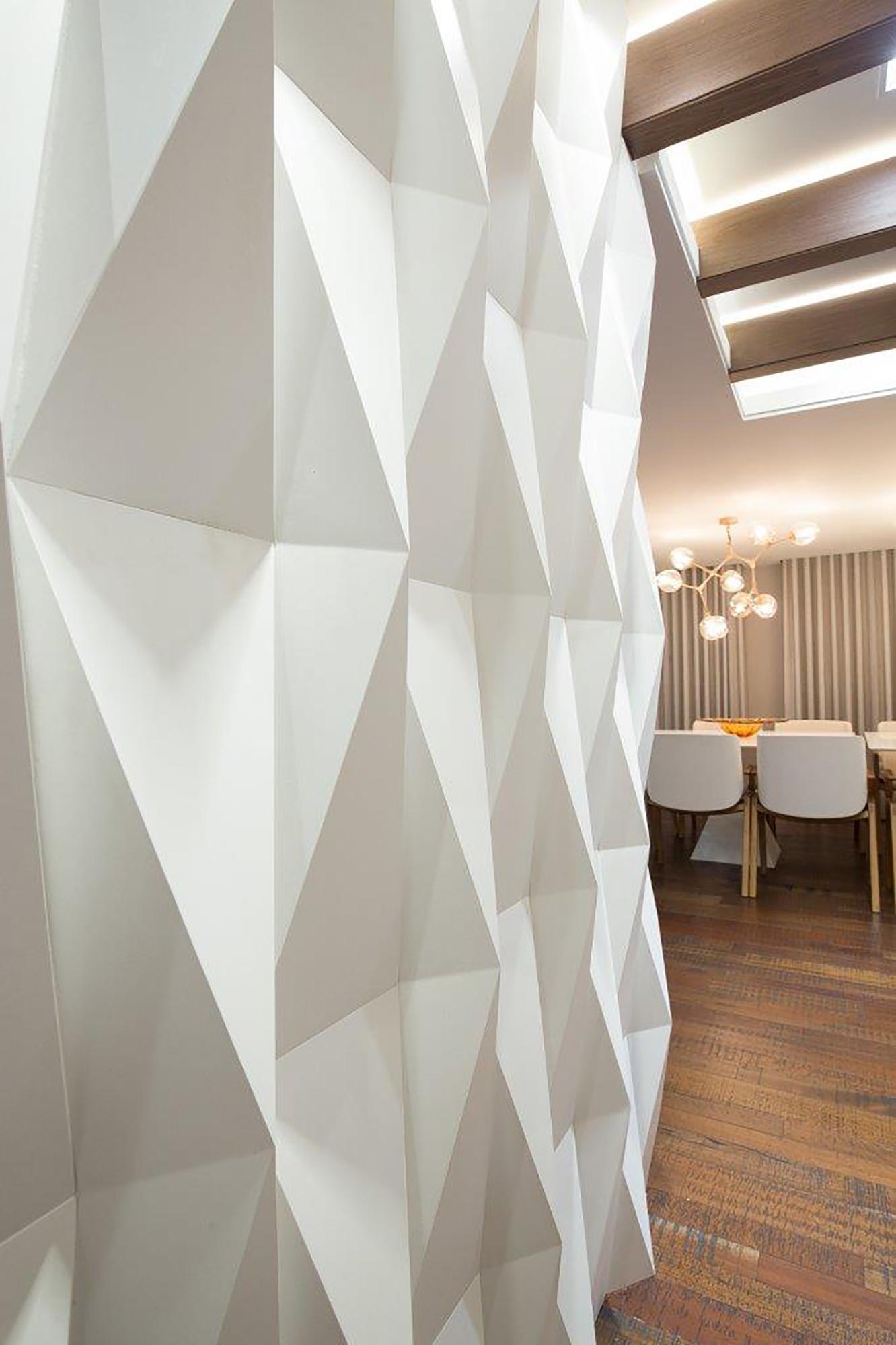 Origami Paris Branco - Arquiteta Danielle Garros - Foto André Bastian