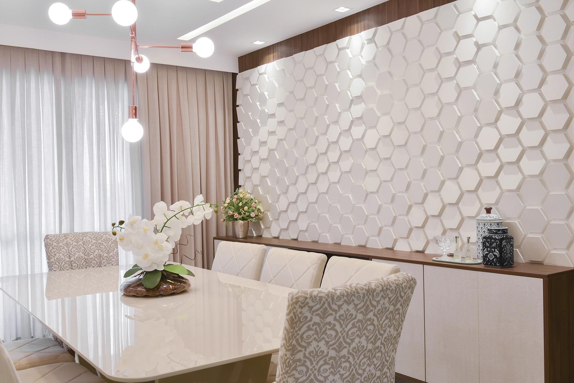 Polygon Paris Branco - Escritório Elo Arquitetura - Foto Veruska Oliveira