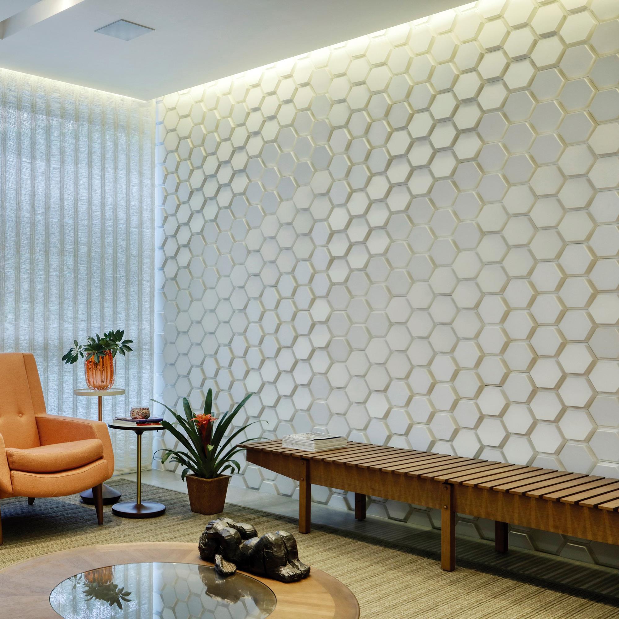 Polygon Paris Branco - Arquiteta Renata Buischi - Foto Denilson Machado