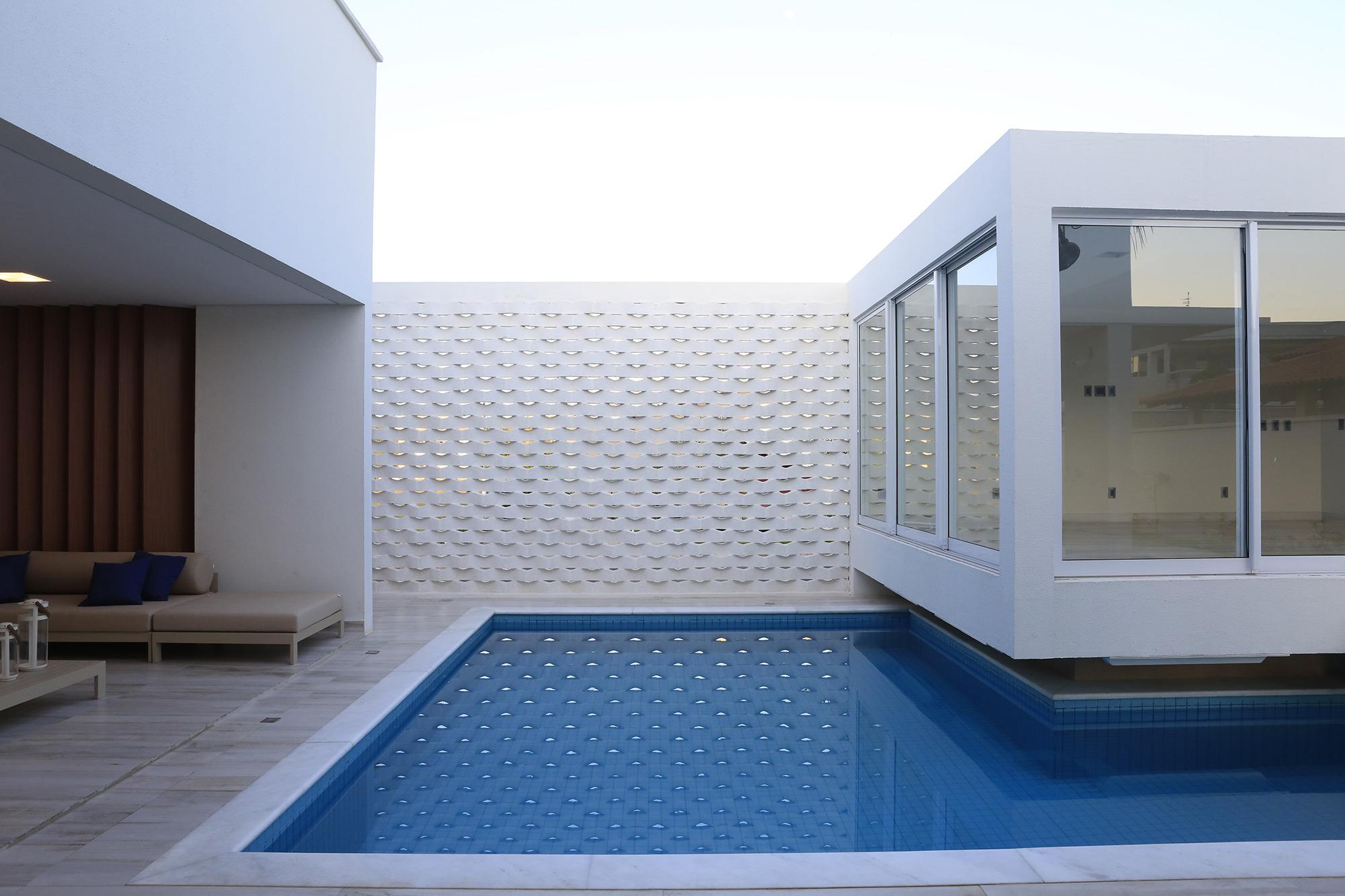 Trama Branco - Arquitetos Flávio Franco e Eduardo Avelino - Foto Darci Bastos