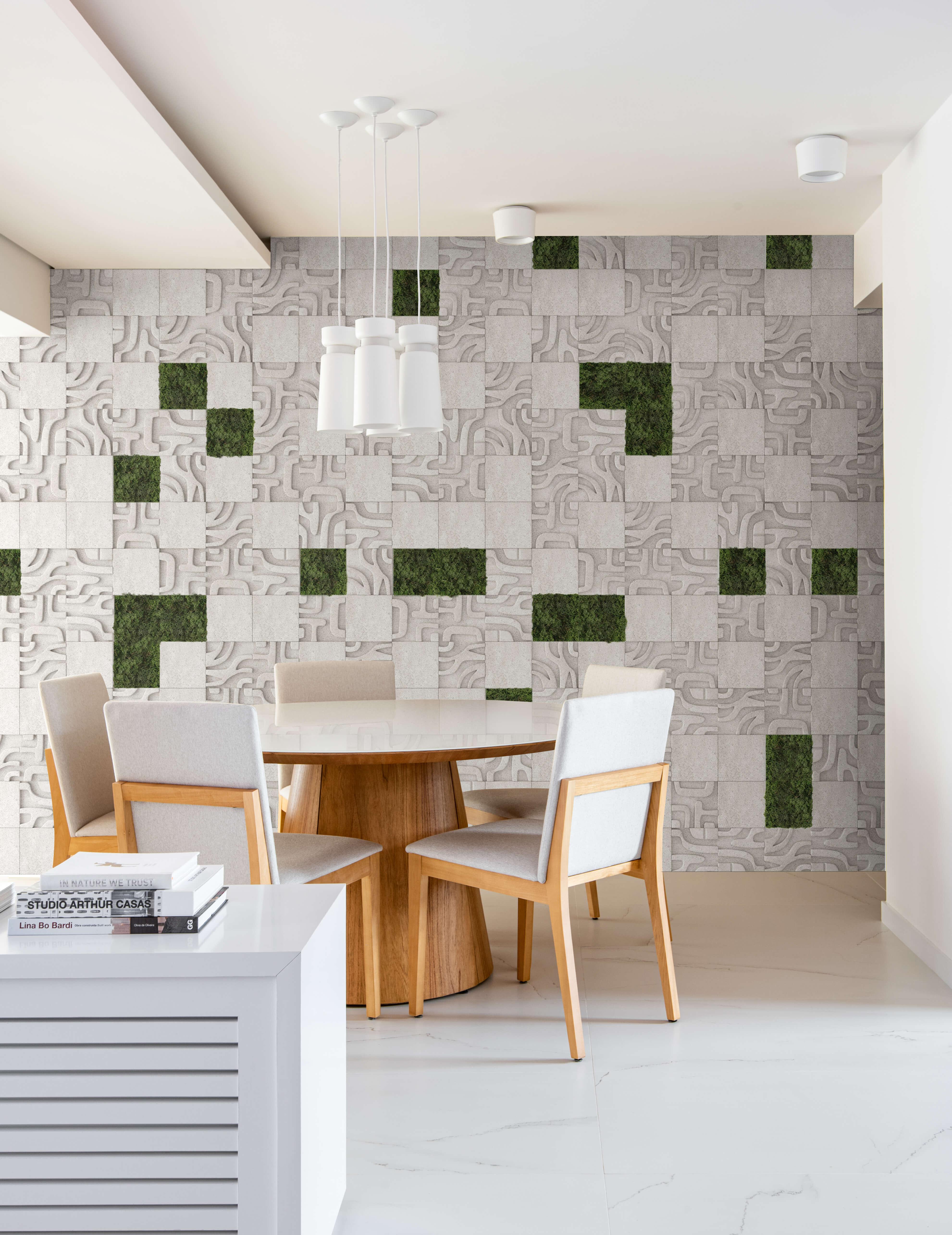 Tribu Grezzo - Moss verde bosque - Daniella Antunes e Gustavo Pigatto Arquitetura - Foto Favaro Jr.